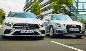 Audi A3 Sportback/Mercedes A 180 d