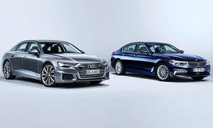 Audi A6, BMW 5er