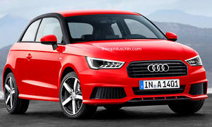 Audi A1 ohne Single-Frame-Grill