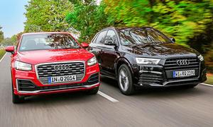 Audi Q2/Audi Q3: Gebrauchtwagen kaufen