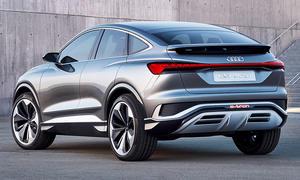 Audi Q4 Sportback e-tron concept (2020)