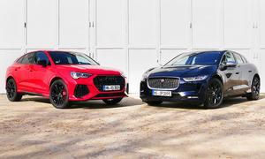 Audi RS Q3/Jaguar i-Pace: Vergleich