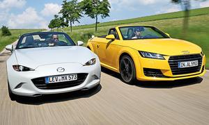 Audi TT Roadster/Mazda MX-5: Gebrauchtwagen kaufen