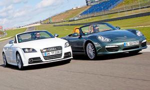 Audi TTS Roadster & Porsche Boxster S: Gebrauchtwagen kaufen
