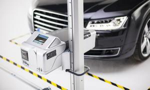 Hochsensible optische Scheinwerfer-Geräte sind nur eines der technischen Hilfsmittel der GTÜ