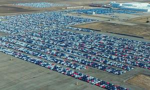 Ausrangierte VW-Diesel