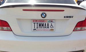Lustige Autokennzeichen
