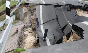 Ostsee-Autobahn sackt weiter ab!