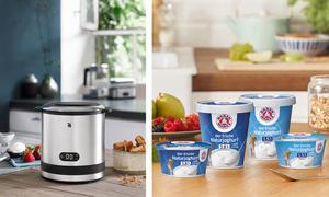 6 WMF-Eismaschinen und Genuss-Pakete von Bärenmarke
