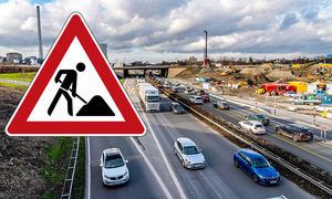 Baustellen auf Autobahnen