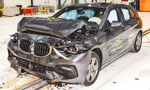 BMW 1er (2019) im Crashtest