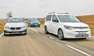 BMW 2er Active Tourer/VW Touran/VW Caddy