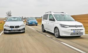 BMW 2er Active Tourer/VW Touran/VW Caddy
