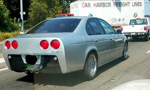 BMW 5er mit Corvette-Heck
