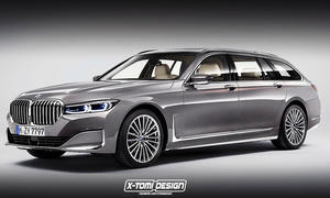 BMW 7er Touring: Illustration