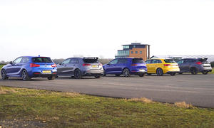AMG A35/M140i/Golf R/S3/Focus RS