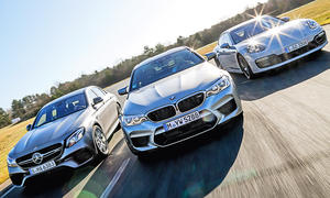 BMW M5/Mercedes-AMG E 63 S/Porsche Panamera Turbo