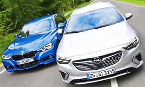 Opel Insignia Sports Tourer GSi/BMW 320d xDrive Touring