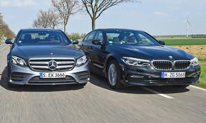 BMW 5er/Mercedes E-Klasse