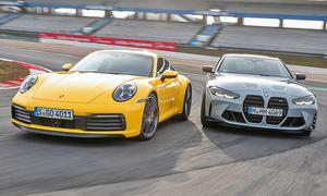 BMW M4 Competition Coupé/Porsche 911 Carrera S