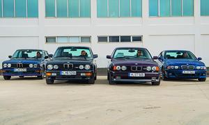 BMW M5 E12, E28, E34 & E39: Classic Cars