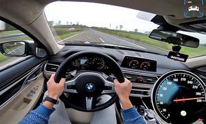 BMW M760Li auf Top-Speed