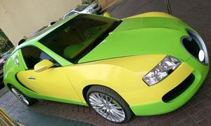 Honda Accord als Bugatti-Veyron-Replika