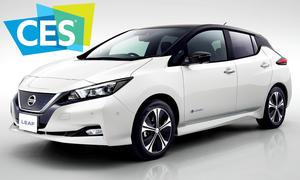 Nissan Leaf auf der CES 2018