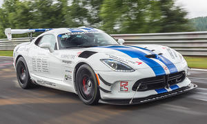Dodge Viper bei Nürburgring-Rekordversuch