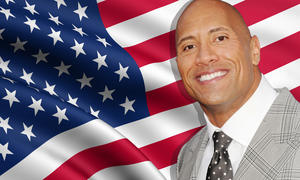 "Dwayne ""The Rock"" Johnson als US-Präsident"