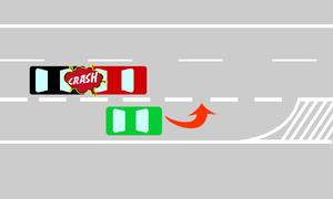 Richtiges Verhalten bei Autobahnauffahrt