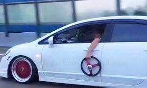 Acura CSX ohne Lenkrad