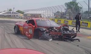 Ferrari 458 (Crash)