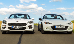 Mazda MX-5 Skyactiv-G 131/Fiat 124 Spider 1.4 MultiAir Turbo