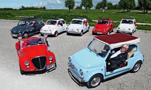 Fiat 500 Abarth/Vignale/Giardiniera: Classic Cars