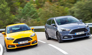 Ford Focus ST Facelift (2015)