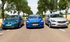 Ford Focus/Opel Astra/VW Golf