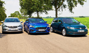 Ford Focus/VW Golf/Opel Astra