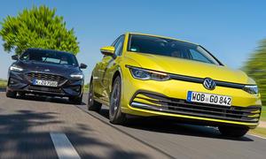 Ford Focus/VW Golf: Vergleichstest