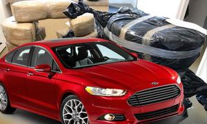 Ford Fusion als Drogentransporter