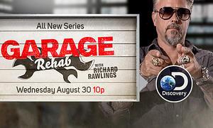 """Garage Rehab"" mit Richard Rawlings"