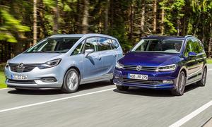 Opel Zafira/VW Touran: Gebrauchtwagen kaufen