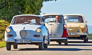 BMW Isetta/NSU Prinz/Goggomobil Coupe: Classic Cars
