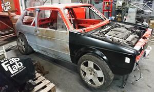 Umbau Golf 1 auf TT-Basis-Video
