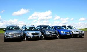 Kompakt-SUV im Test: Skoda Yeti, BMW X3, VW Tiguan, Nissan Qashqai und Renault Koleos