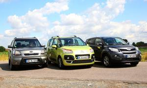 Vergleichstest Kleinwagen: Welcher City-SUV macht das Rennen?