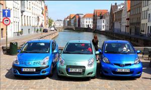 Vergleichstest: Nissan Pixo und Suzuki Alto gegen Toyota Aygo