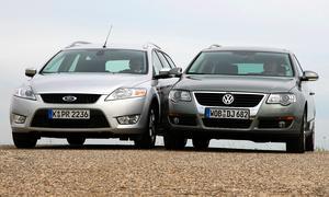 Vergleichstest: Ford Mondeo Turnier – VW Passat Variant