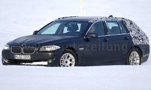 Neuer Erlkönig: Den 5er Touring stellt BMW Anfang April auf der AMI in Leipzig vor