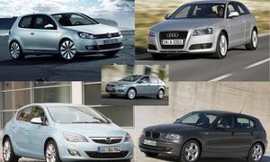 Kaufberatung Kompaktklasse: VW Golf, Opel Astra, Audi A3, BMW 1er und Ford Focus im Modellcheck